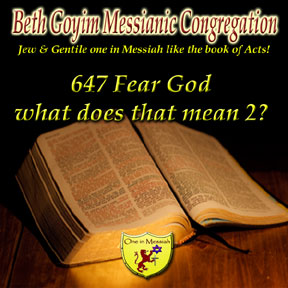 Beth goyim messianic congregation nj ny messianic radio for What does floored mean